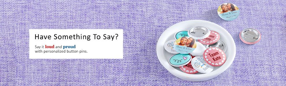 custom Button Pin