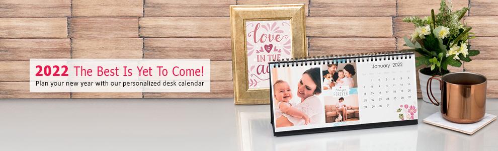 Personalized Desk Calendars