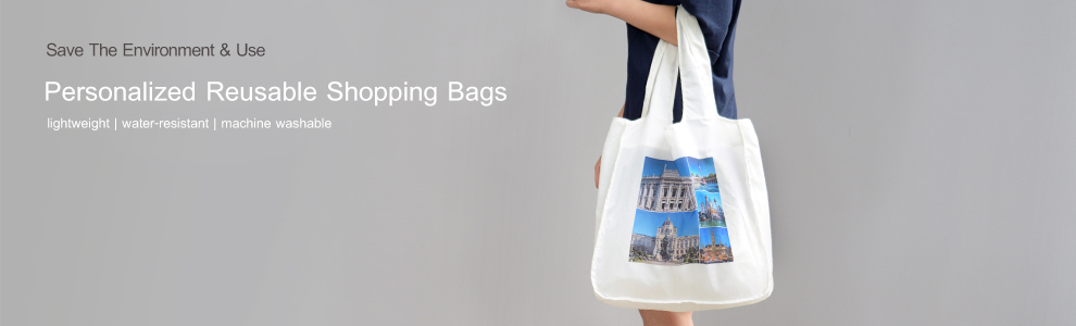 Personalized Reusable Shopping Bags