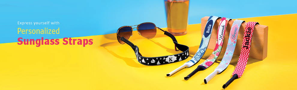 Personalized Sunglass Straps