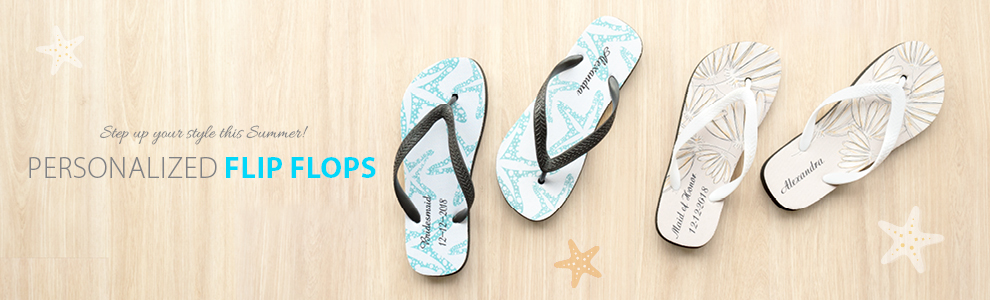 Personalized Flip Flops with Photo