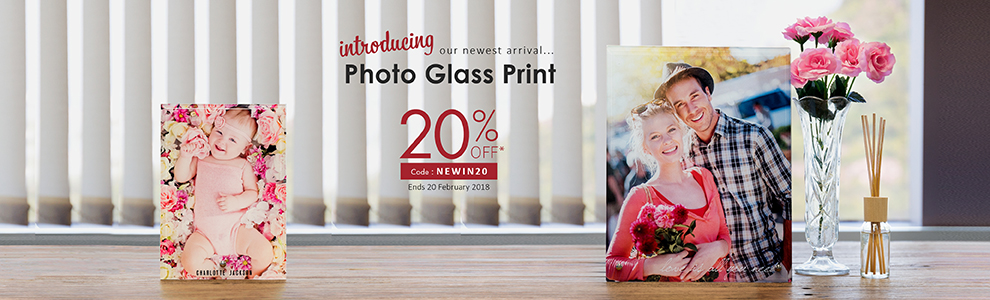 Personalized Photo Glass Prints