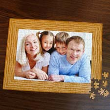 Custom Large Photo Jigsaw Puzzle, Wood