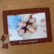 Custom Large Photo Jigsaw Puzzle, Natural