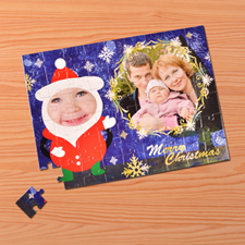 Christmas Saint Photo Jigsaw Puzzle