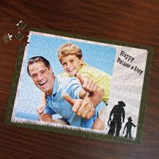 Custom Large Photo Jigsaw Puzzle, Cowboy