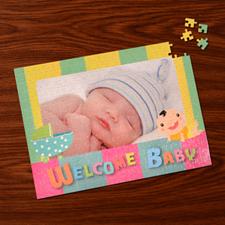 Custom Large Photo Jigsaw Puzzle, Baby Shower