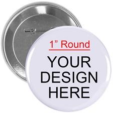 """Custom Full Color Imprint 1"""" Round"""