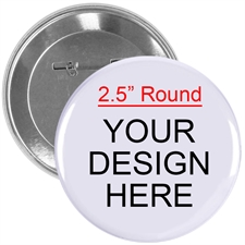 "Custom Full Color Imprint 2.25"" Round"