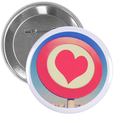 "Personalized Design Artwork 3"" Round"