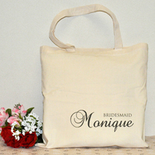 Bridesmaid Personalized Marriage Tote
