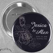Elegant Rose Save The Date