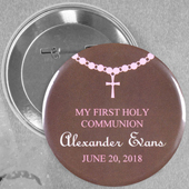 Baby Girl Baptism Necklace