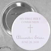 Popular Christening Magnet with Elegant Cross