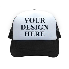 Custom Black Trucker Hat