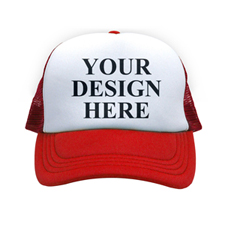 Custom Trucker Hat Red