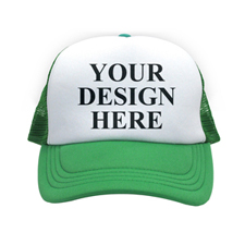 Custom Green Trucker Hat