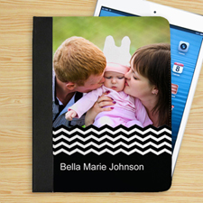 Black Chevron Personalized Photo_copy