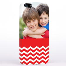Red Chevron Pattern iPhone 5