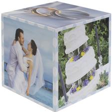 Wedding Anniversary Photo Cube