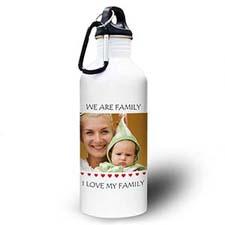 Personalized Photo Little Sweet Hearts Water Bottle