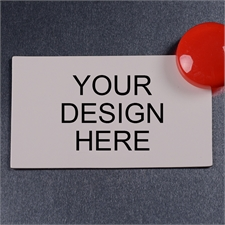 Personalized Custom Printed 2 X 3.5 Business Card Magnet
