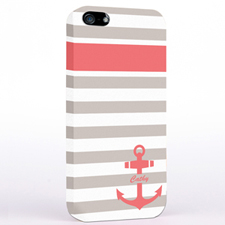 Carol Anchor Grey Stripes