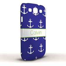 Navy Cute Anchors