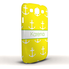 Yellow Cute Anchors