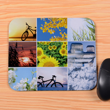 Personalized 9 Collage Mouse Pad