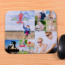 Personalized 12 Collage Mouse Pad
