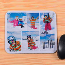 Personalized 6 Collage Mouse Pad