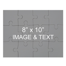 8x10 Magnetic Landscape Photo Jigsaw Puzzle