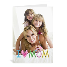 Personalized Photo Greeting Cards, 5x7 Portrait Folded
