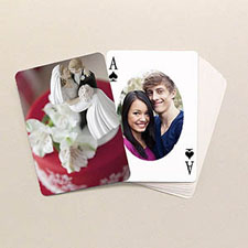 Ovate Custom Front and Back Playing Cards