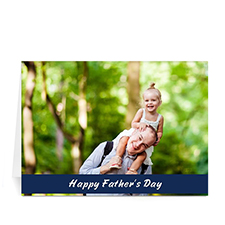 Happy Dad's Day, Classic Blue
