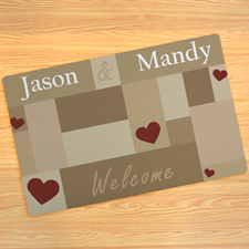 Create Your Own Welcome Door Mat
