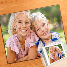 8x10 Photo Puzzle, Sunshine Smiles
