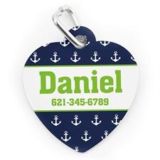 Navy Anchor, Heart