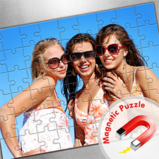 Large Magnetic Photo Puzzle, Sunshine Smiles