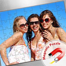 Large Magnetic Photo Puzzle, Sunshine Smiles