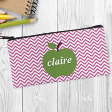 Green Apple Pink Chevron