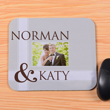 Create Your Own Wedding Mouse Pad