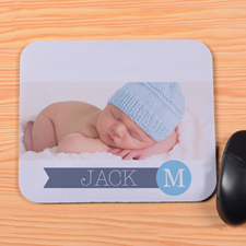 Create Your Own My Initial Mouse Pad