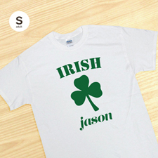 Personalized Irish, White T Shirt