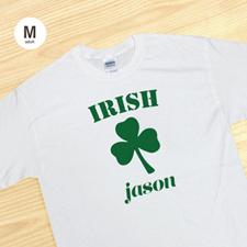 Irish, White T-Shirt