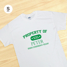 Irish Drinking Team, White T-Shirt