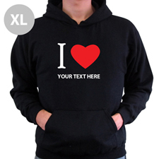 Personalized Irish Drinking League, Black Hoodie Sweatshirt