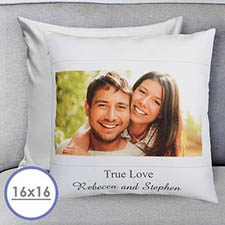 Photo Message Personalized Pillow Cushion Cover 16