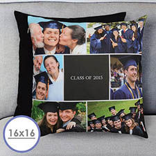 Graduation Collage Personalized Pillow Cushion Cover 16